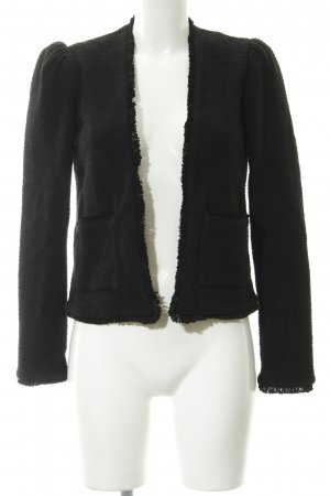 Mango Basics Wool Blazer black simple style