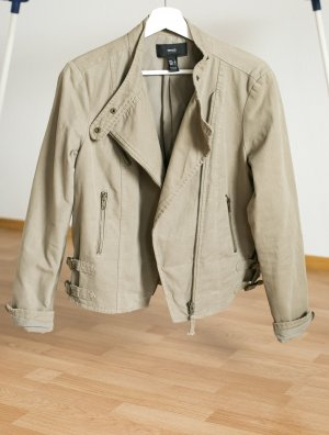 Mango Bikerjacke Lässig blogger boyfriend oversize khaki military NEU