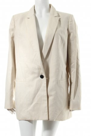 Mango Blazer creme Business-Look