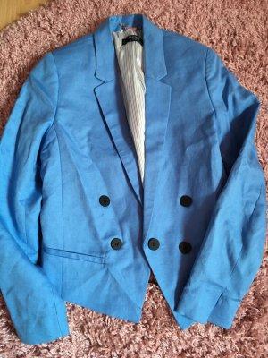 Mango Blazer himmelblau, Blazer von Mango in blau