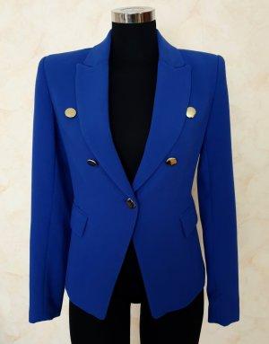 Mango Suit Short Blazer blue