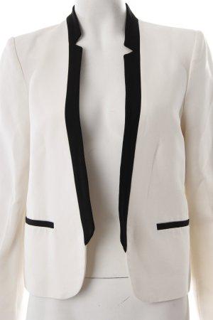 Mango Blazer weiß-schwarz Elegant