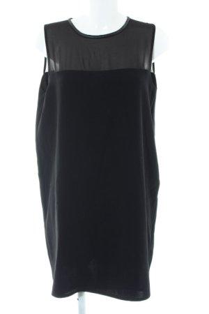 Mango Falda estilo lápiz negro elegante