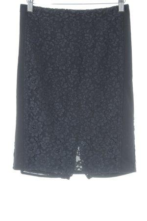 Mango Bleistiftrock schwarz Elegant
