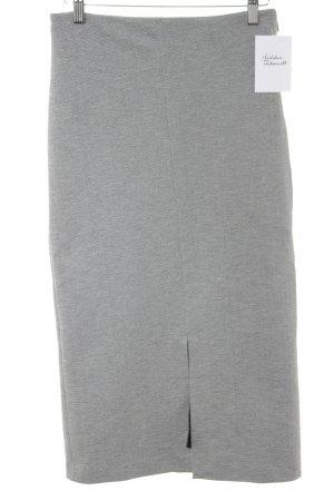 Mango Bleistiftrock schwarz-weiß Zackenmuster Business-Look