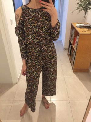 Mango Blumen Overall Jumpsuit florales Muster