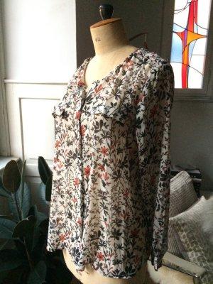 MANGO Bluse - floral, wunderschön, 1xgetragen