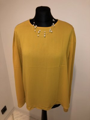 Mango Blouse brillante orange doré