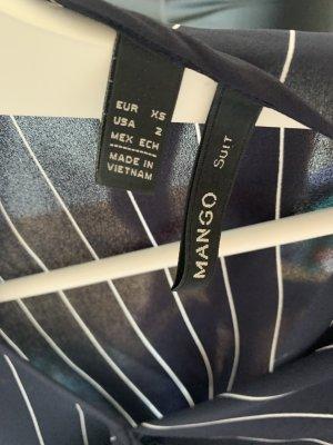 Mango Bluse Nadelstreifen