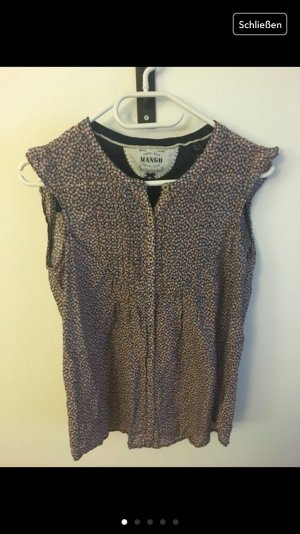 Mango Bluse Top Blumenprint