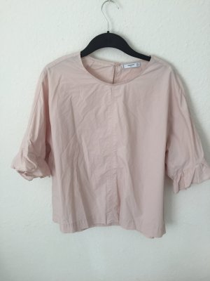Mango Blusen Shirt Rosa