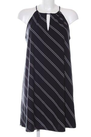 Mango Blusenkleid schwarz-weiß Streifenmuster Casual-Look