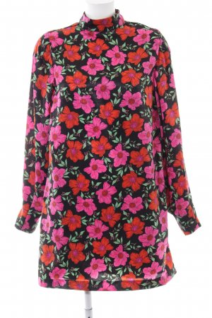 Mango Robe chemisier motif floral style simple