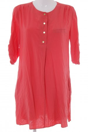 Mango Blouse Dress bright red casual look