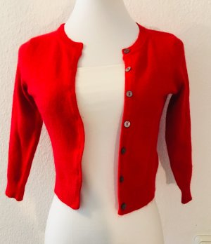 Mango Boléro en tricot rouge