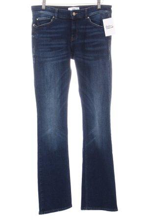 Mango Boot Cut Jeans blau Casual-Look