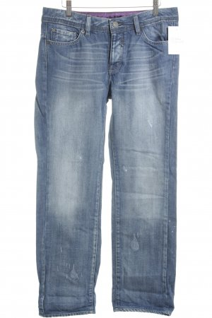 Mango Boot Cut Jeans blau Casual-Look