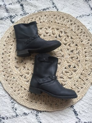 Mango Boots Echtleder