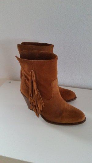 Mango Boots Fransen Gr. 39