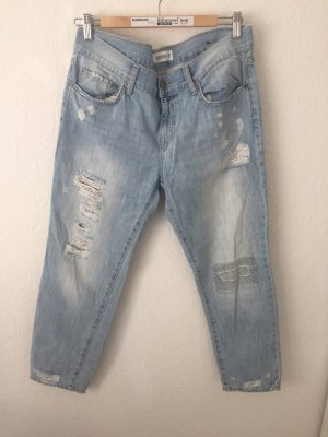 Mango Boyfriend Jeans Hellblau