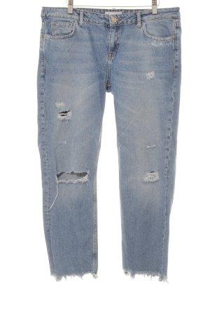 Mango Boyfriend jeans korenblauw ontspannen stijl