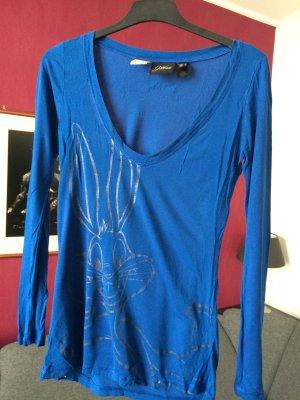 Mango Bugs Bunny Shirt Größe S (passt 36-38)