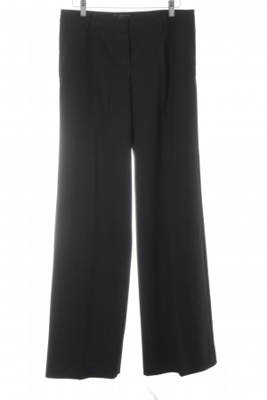 Mango Pleated Trousers black business style
