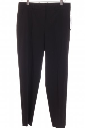 Mango Bundfaltenhose schwarz Business-Look