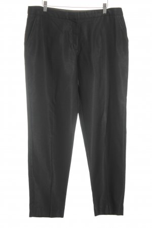 Mango Pleated Trousers black elegant