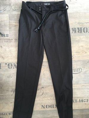 Mango Suit Trouser black