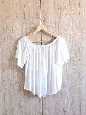 Mango Carmen Shirt white