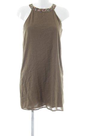 Mango casual A-Linien Kleid grüngrau Casual-Look