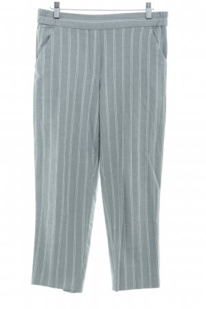 Mango casual Culottes grey-white striped pattern casual look