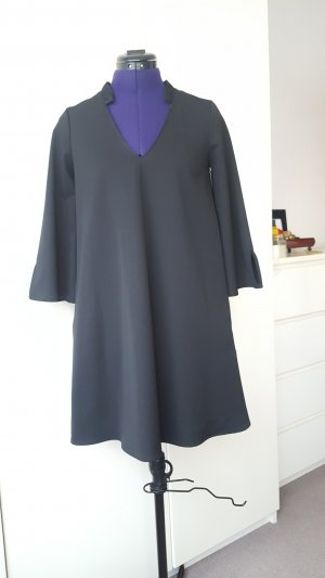 Mango casual dress with side pockets and 3/4 wide sleeves, size S