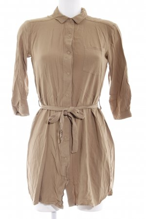 Mango casual Shirtwaist dress sand brown-beige casual look