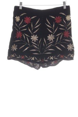 Mango casual High-Waist-Shorts florales Muster Elegant