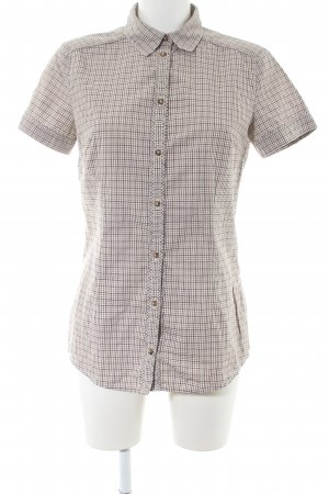 Mango casual Short Sleeve Shirt light grey allover print casual look
