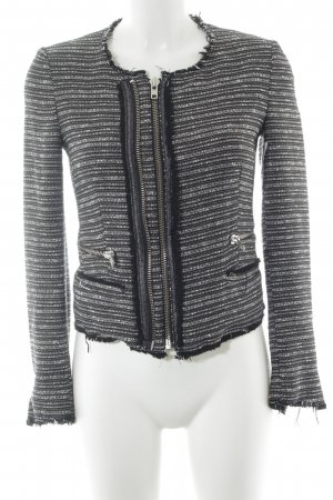 Mango casual Kurzjacke Streifenmuster Business-Look