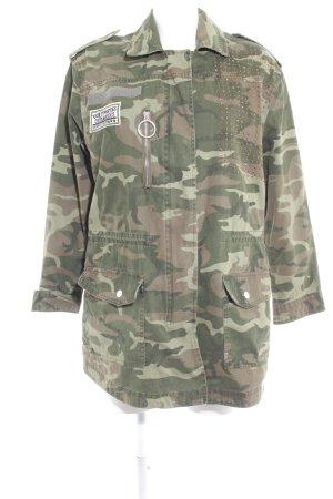 Mango casual Veste militaire motif de camouflage style militaire
