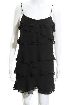 Mango casual Minikleid schwarz minimalistischer Stil