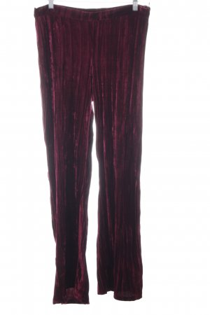 Mango casual Flares bordeaux party style