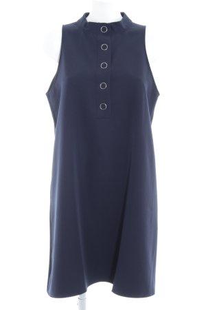 Mango casual schulterfreies Kleid dunkelblau Elegant