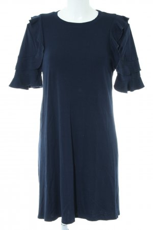 Mango casual Shirtkleid blau Casual-Look