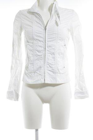 Mango Casual Sportswear Blouson weiß Casual-Look