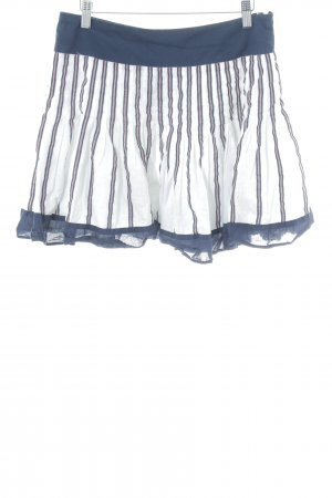 Mango Casual Sportswear Faltenrock Streifenmuster Casual-Look