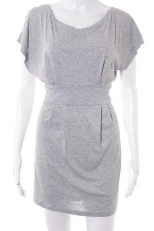 Mango Casual Sportswear Jerseykleid hellgrau Casual-Look