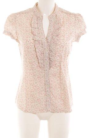 Mango Casual Sportswear Blouse à manches courtes motif de fleur