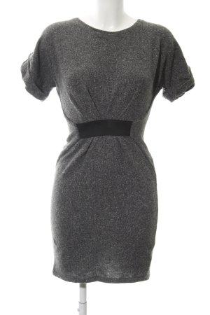 Mango Casual Sportswear Kurzarmkleid meliert Casual-Look