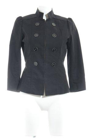 Mango Casual Sportswear Kurzjacke schwarz Retro-Look