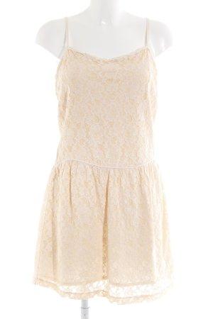 Mango Casual Sportswear Minikleid apricot Blumenmuster Casual-Look